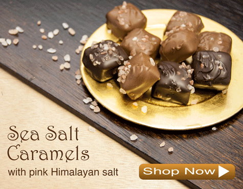 Sea Salt Caramels Chocolates